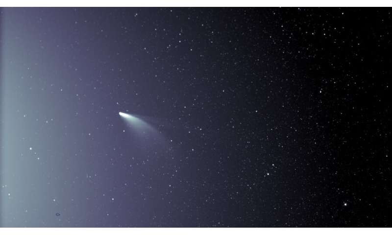 Parker Solar Probe spies newly-discovered comet NEOWISE
