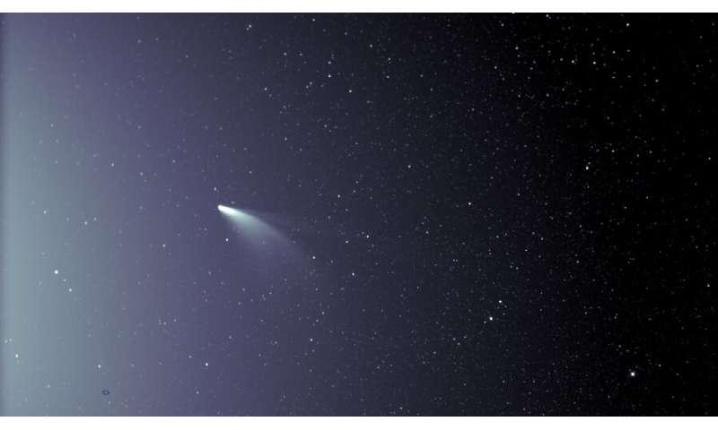 Parker Solar Probe espionne la nouvelle comète NEOWISE