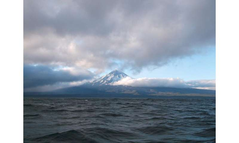 Peeking at the plumbing of one of the Aleutian's most-active volcanoes