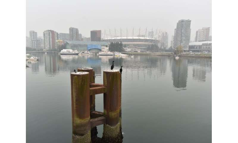 People in Vancouver have spent days smarting under a thick haze that has irritated eyes and throats
