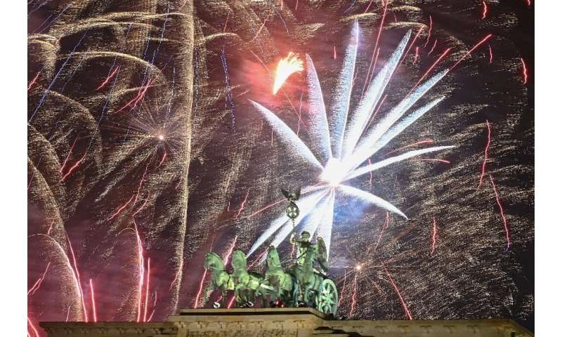People spent around 113 million euros ($127 million) this year in Germany for New Year's fireworks, sector federation VPI data s