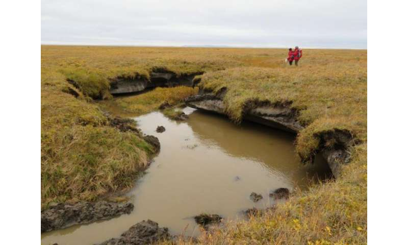 Permafrost in the Arctic can thaw faster than presumed
