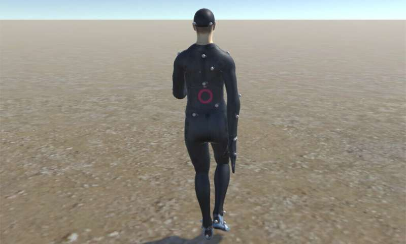 Physiotherapy could be done at home using virtual reality