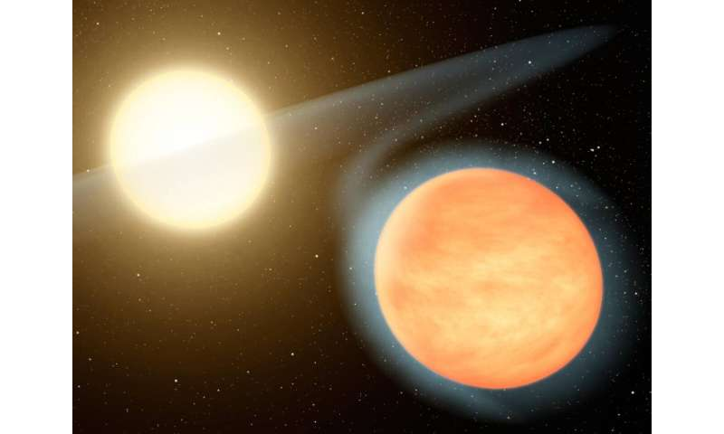 Planet WASP-12b is on a death spiral, say scientists