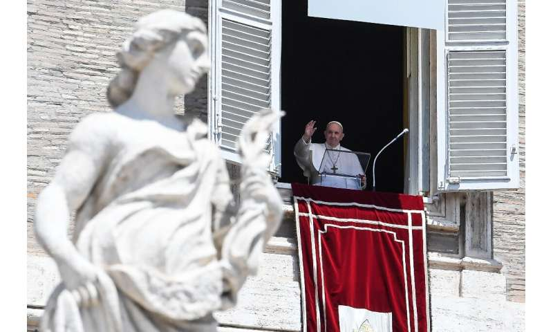 Pope Francis said the worst of the coronavirus crisis was over in Italy as he addressed the faithful for the first time in Saint