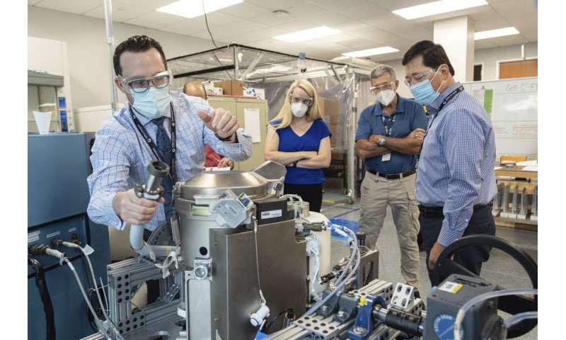 Potty training: NASA tests new $23M titanium space toilet