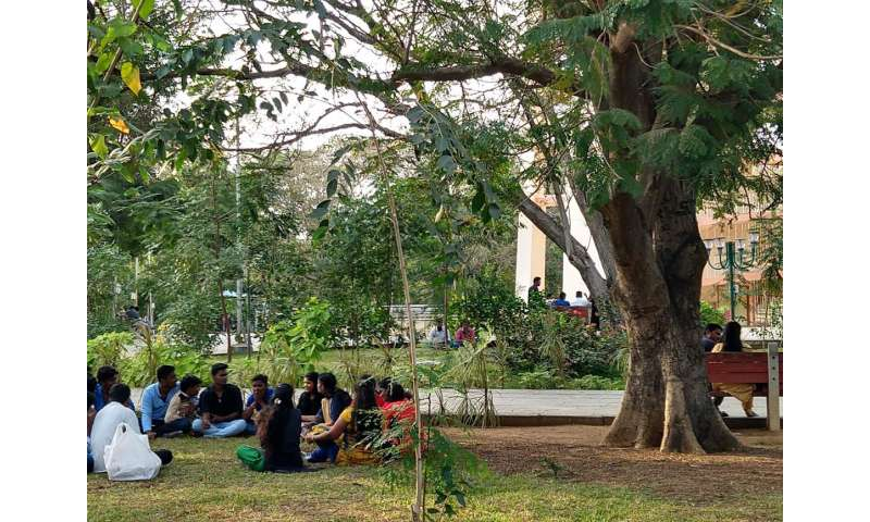 Public parks guaranteeing sustainable well-being