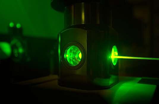 Putting a nanomachine to work