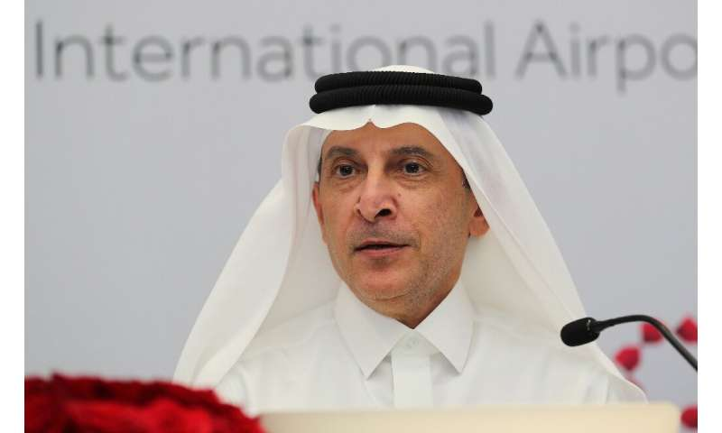 """Qatar Airways CEO Akbar al-Baker warned it will be """"survival of the fittest"""" for the airline industry devastated by th"""
