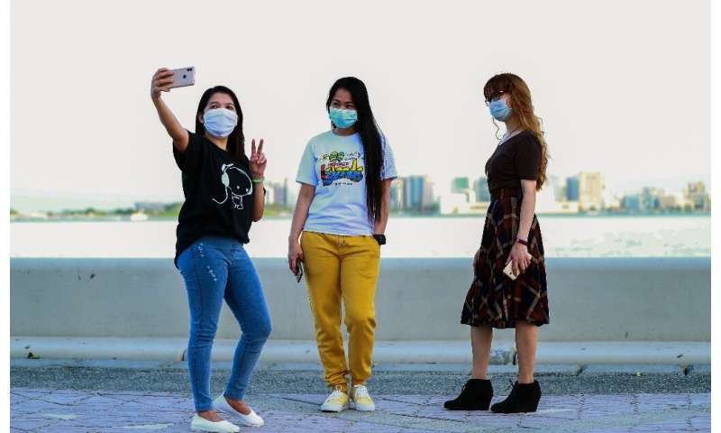 Qatar has among the world's toughest penalties for failing to wear a mask, to stem the spread of the novel coronavirus