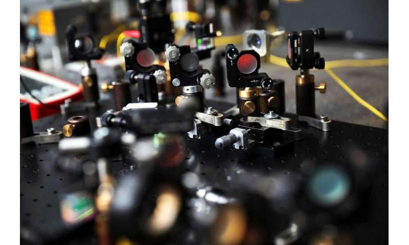 Quantum-inspired approach dramatically lowers light power needed for OCT
