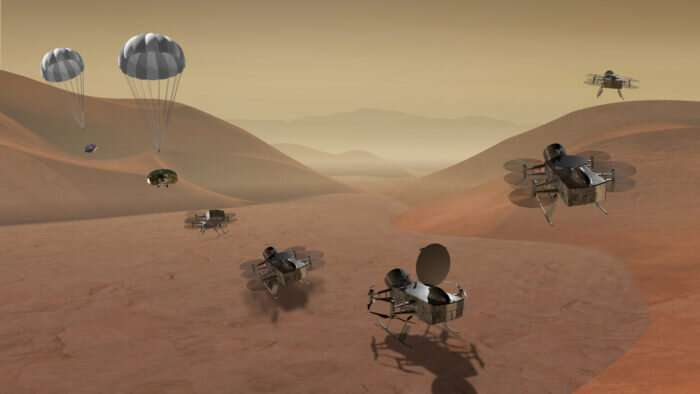 Recipe is different but Saturn's moon Titan has ingredients for life