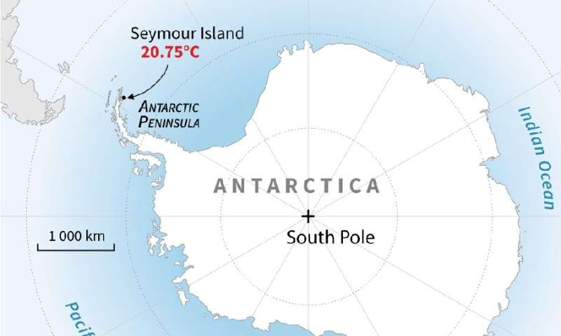 Record heat in Antarctica