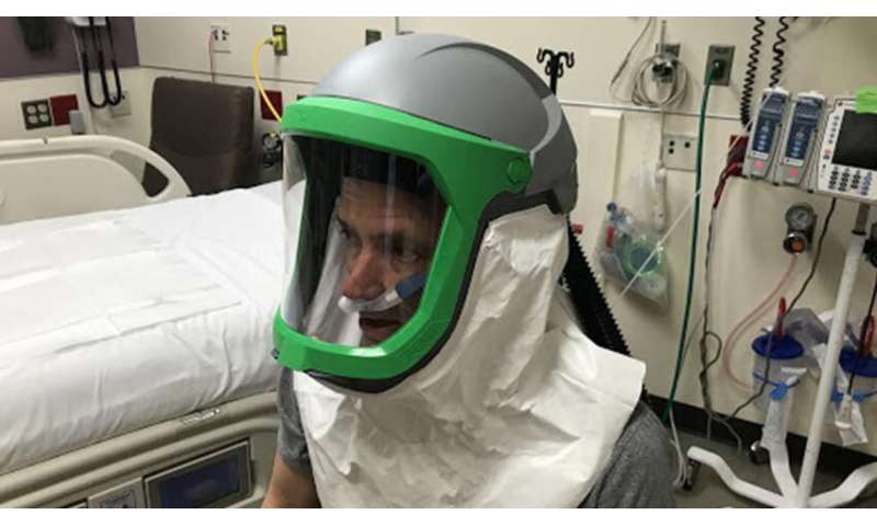 Repurposed industrial respirator could free ventilators for COVID-19 patients