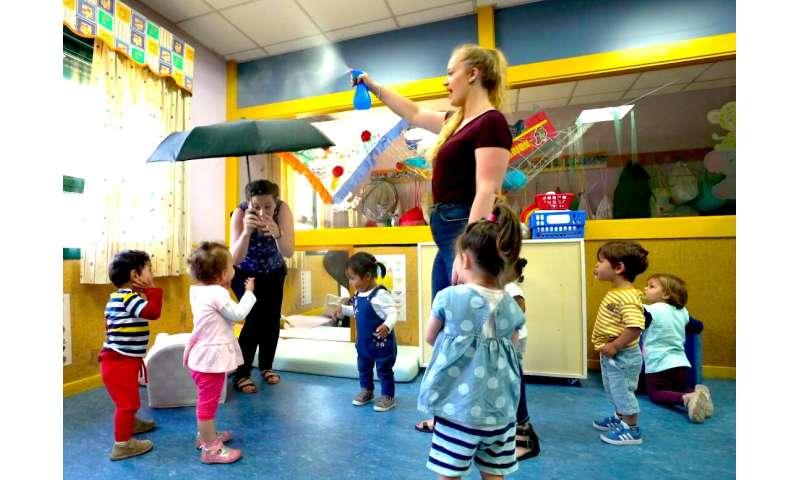Research expands bilingual language program for babies