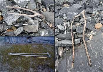 Retreat of Norwegian ice patch reveals lost Viking-era artifacts in mountain pass