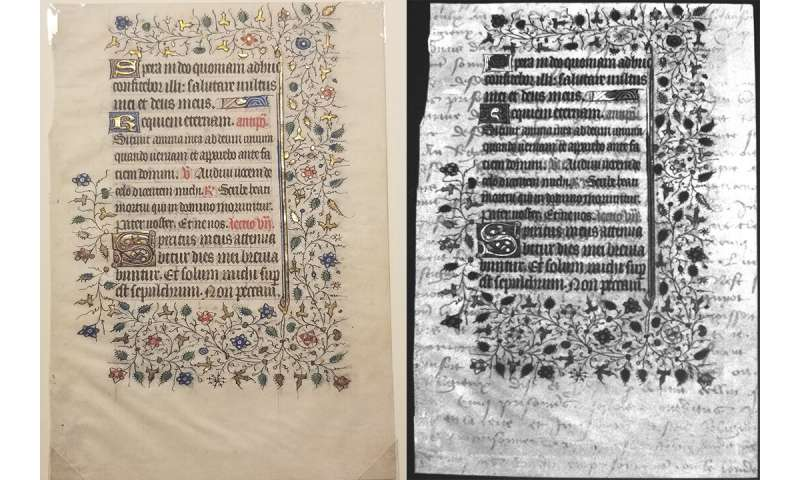 RIT students discover hidden 15th-century text on medieval manuscripts