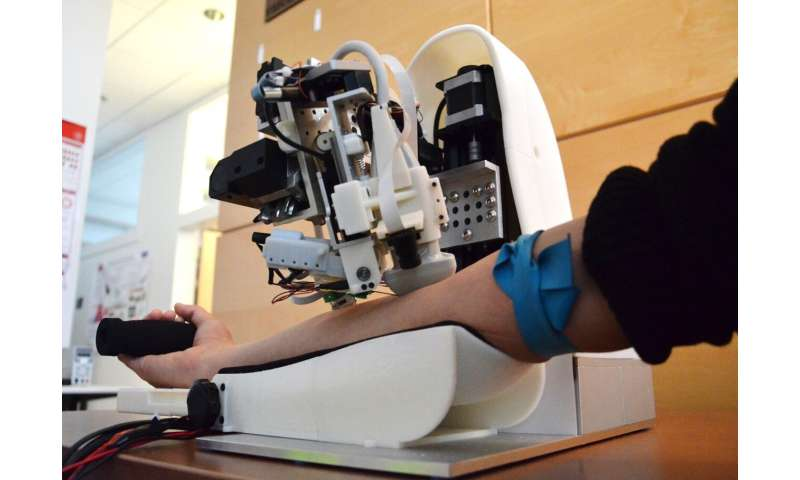 Robot uses artificial intelligence and imaging to draw blood