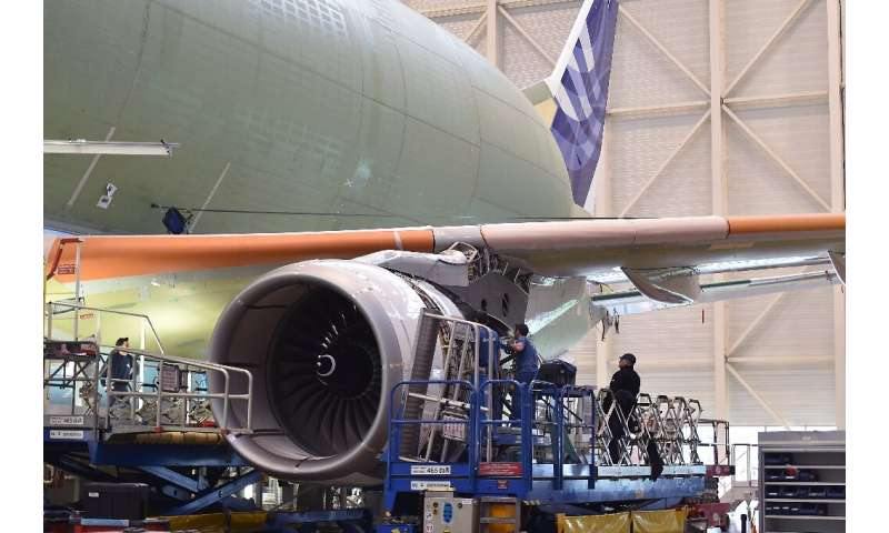Rolls-Royce engines, like this Trent 700, power many of today's aircraft