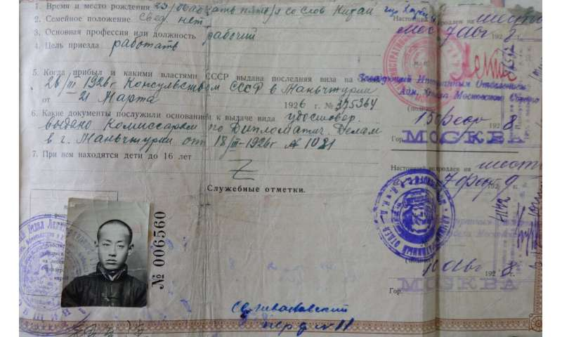 Russian Historians Study Migration from China to Russia in Different Time Periods