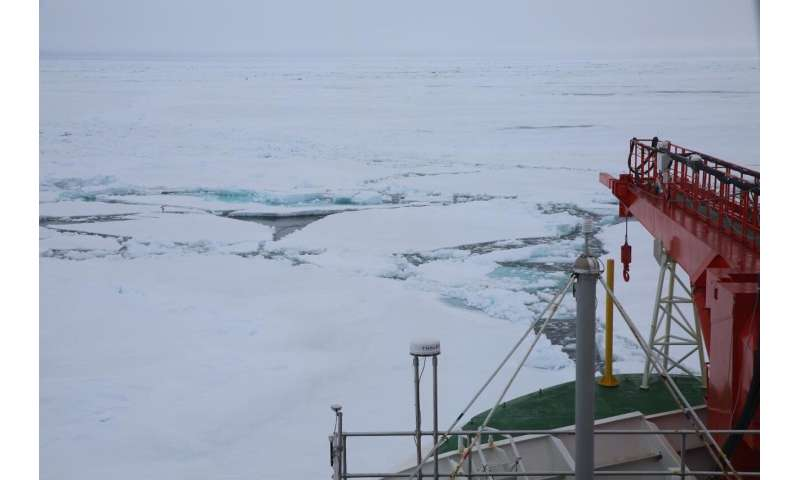 RV Polarstern returns to the MOSAiC floe