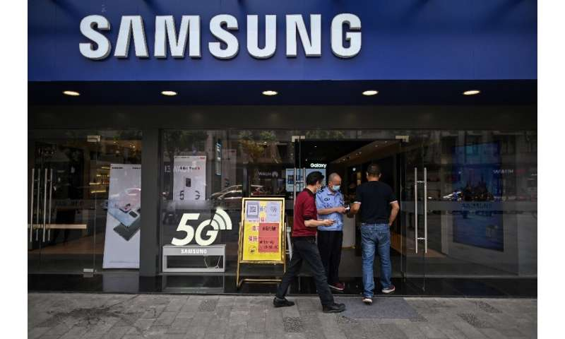 Samsung is the world's largest smartphone maker