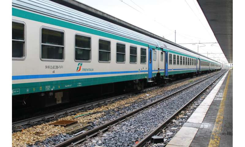 Satellites to track trains and promote rail safety