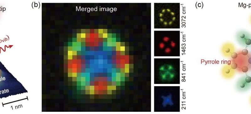 Scanning Raman picoscopy: A new methodology for determining molecular chemical structure