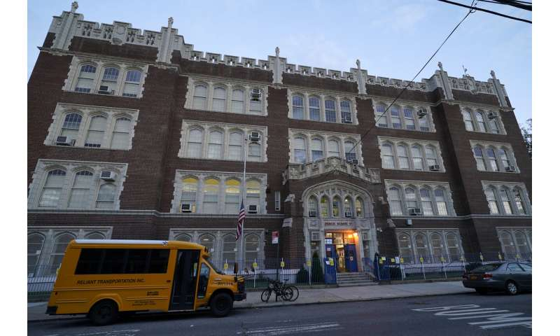 Schools closed in virus hot spots as NYC battles flare-ups