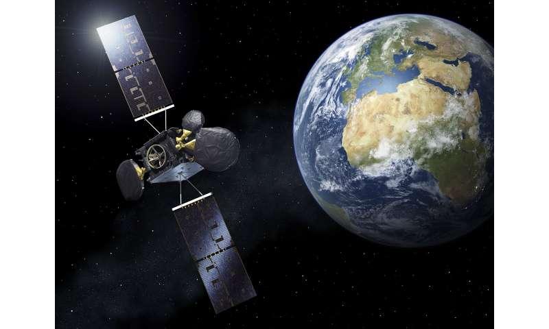 Second space data highway satellite set to beam