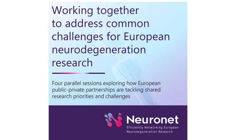 Showcasing Innovative Medicines Initative projects Neuronet at #30AEC the Alzheimer Europe Conference