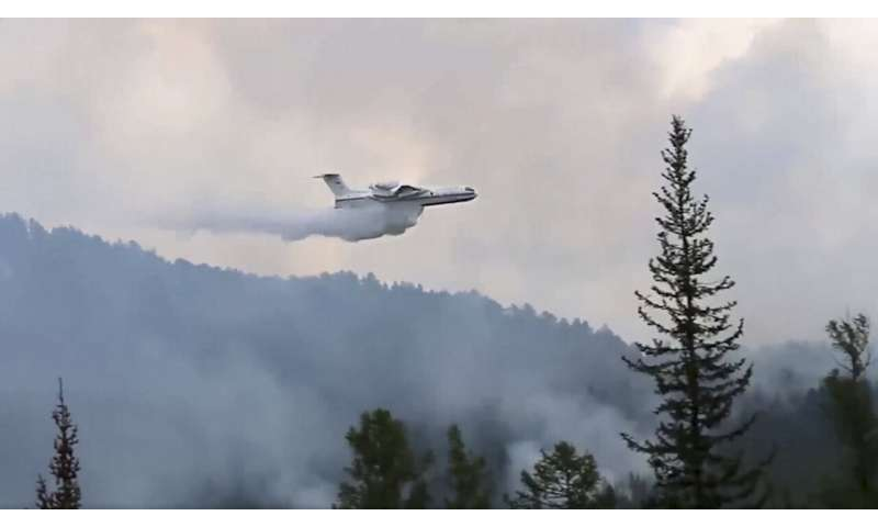 Siberian heatwave: Wildfires rage in Arctic, sea ice melts