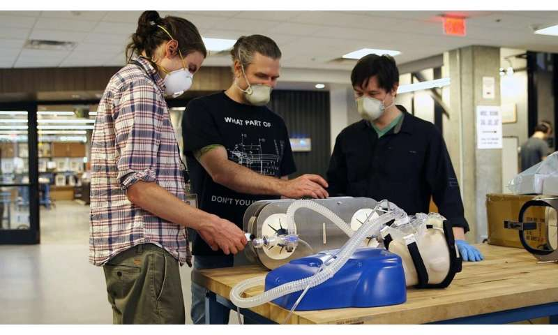Simple, low-cost ventilator builds on available resuscitation bags