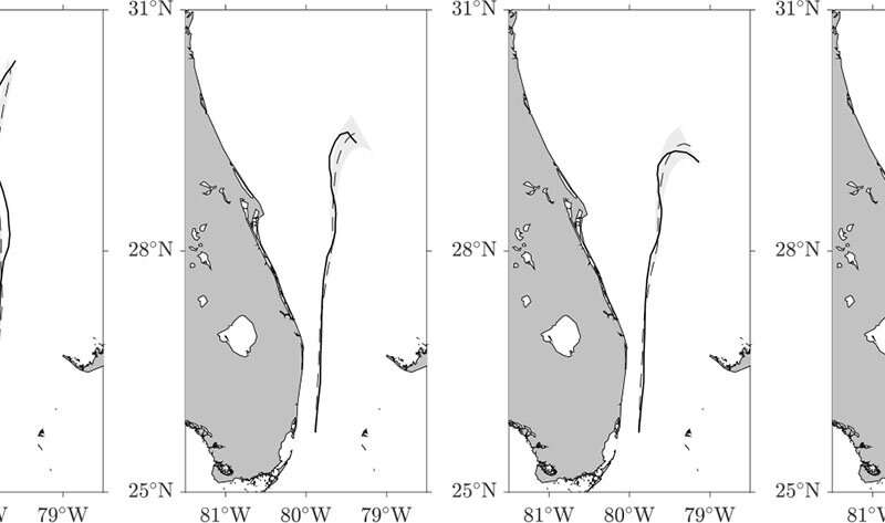 Simulations show effects of buoyancy on drift in Florida Current
