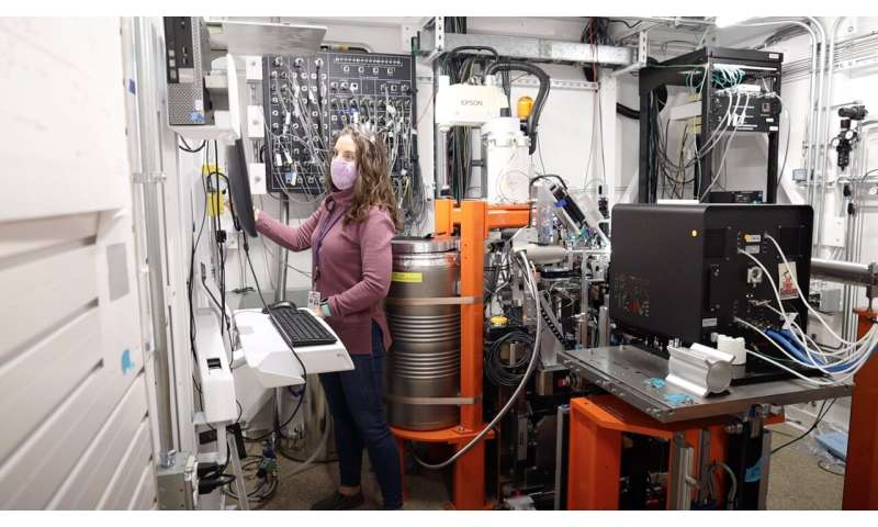 SLAC's new X-ray beamline aids COVID-19 research
