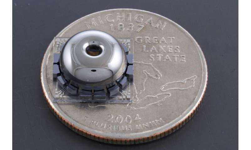 Small, precise and affordable gyroscope for navigating without GPS