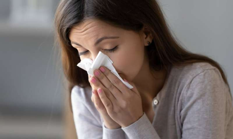 Sniffles, sneezing and cough? How to tell if it's a simple allergy rather than The Virus