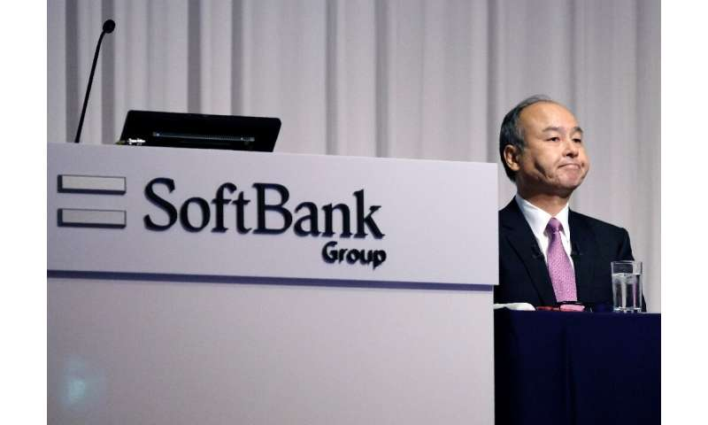 SoftBank's latest results follow a turbulent period for the firm and its CEO Masayoshi Son