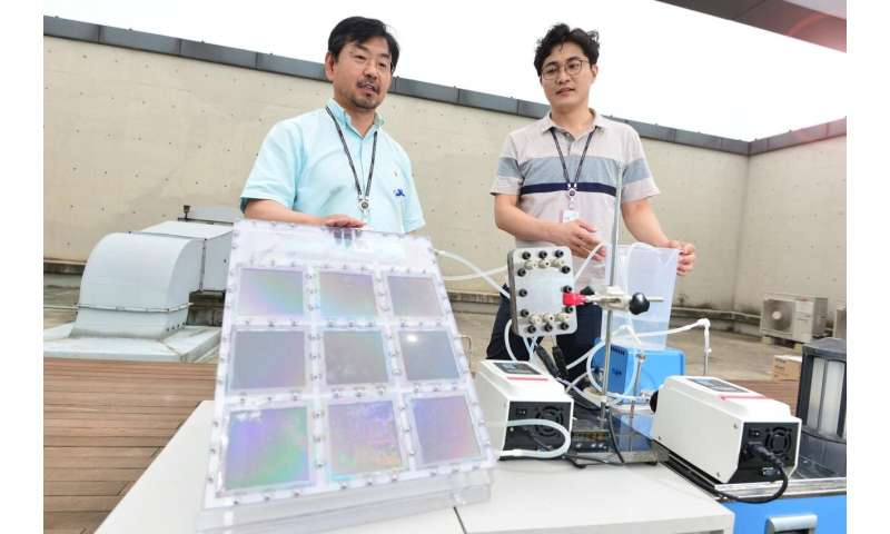 Solar-driven membrane distillation technology that can double drinking water production