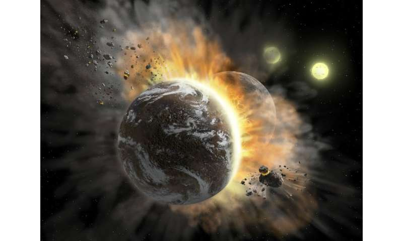 Solar system acquired current configuration not long after its formation