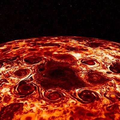 Solving the strange storms on Jupiter
