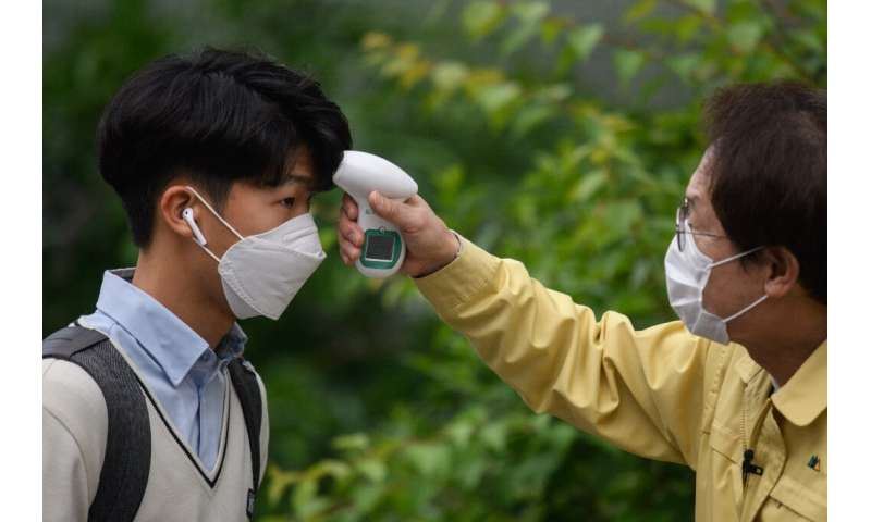 South Korea endured one of the worst early outbreaks of the disease outside China but has brought it under control