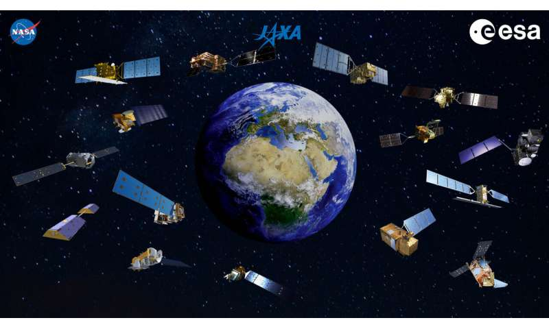 Space agencies join forces to produce global view of COVID-19 impacts