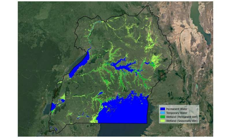 Space key to wetland conservation