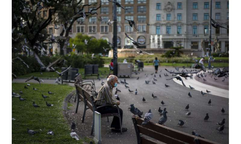 Spain says 'tough weeks' ahead as Madrid hit hard by virus