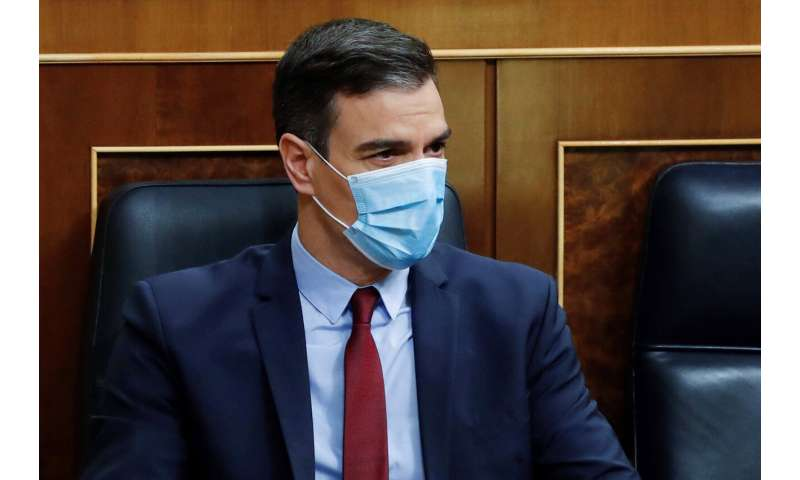 Spain's parliament approves new 2-week lockdown extension