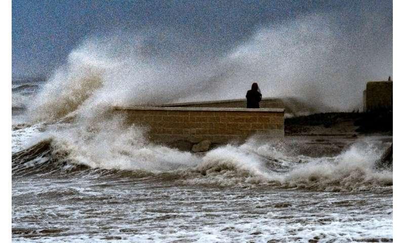 Storm Gloria battered Spain's eastern Mediterranean coastline