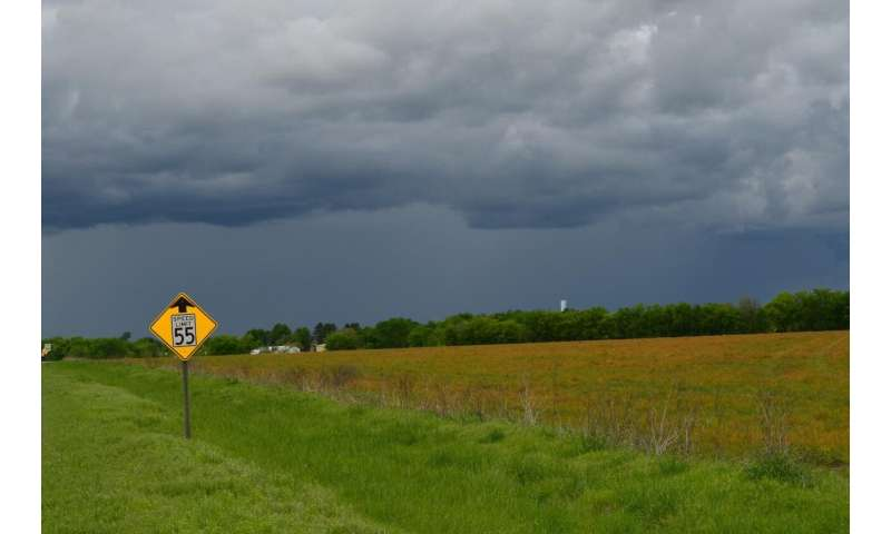 Stronger rains in warmer climate could lessen heat damage to crops, says study