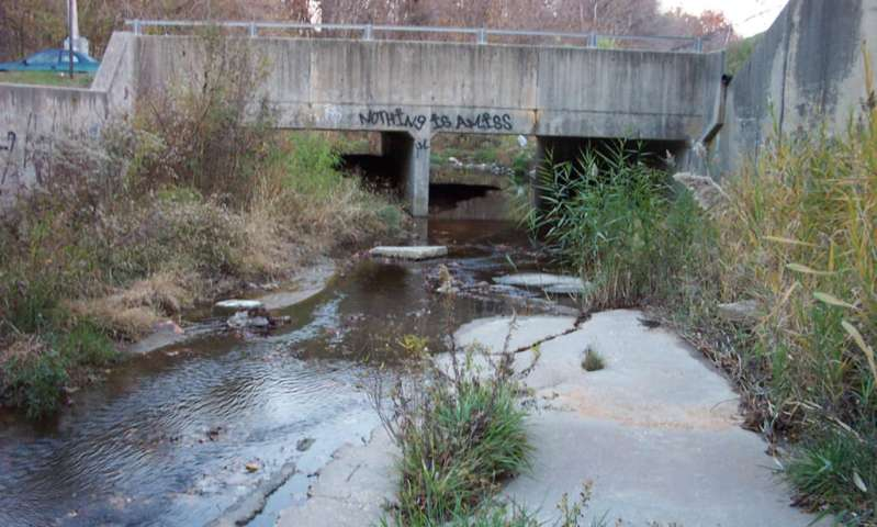 Study finds urbanization means different things to different watersheds
