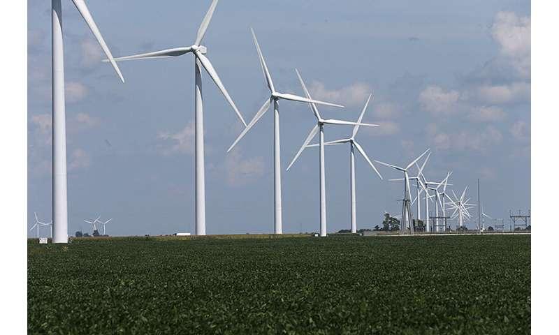 Nghiên cứu đánh giá tác động của năng lượng gió đối với các cộng đồng địa phương ở Indiana